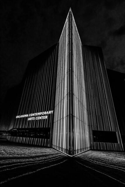 Oklahoma Contemporary Arts Center - B&W