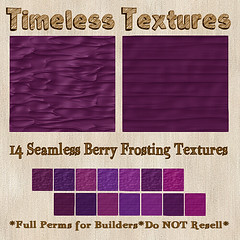TT 14 Seamless Berry Frosting Timeless Textures