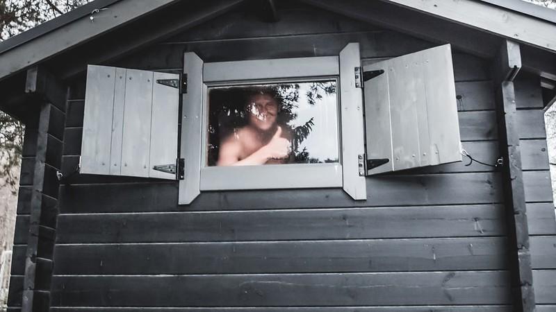 Saunat Tampereella, Suolijärven sauna