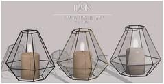 Oasis: Diamond Candle Lamp