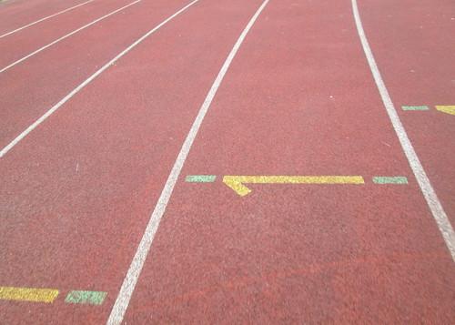 Running Track, Gateshead International Stadium