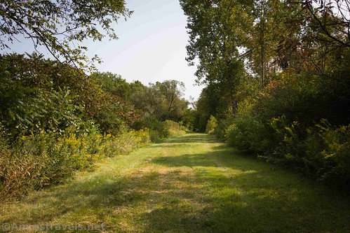 The Genesee Valley Greenway south of Caneadea, New York