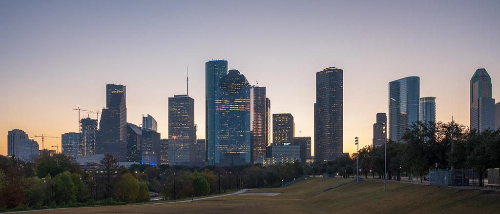 Downtown Houston Sunrise
