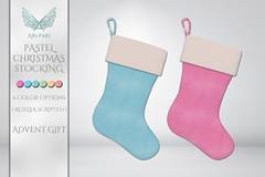 [Ari-Pari] Pastel Christmas Stocking