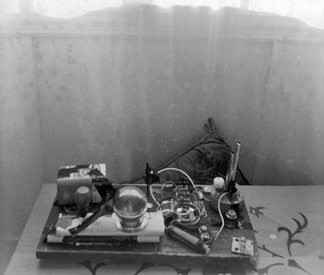 A RARE glimpse of my first effort at creating a time machine. It took me back only for a few days, so the device required rethinking of its overall design as well as major modifications to the flux circuits. Milford Connecticut. March 1967