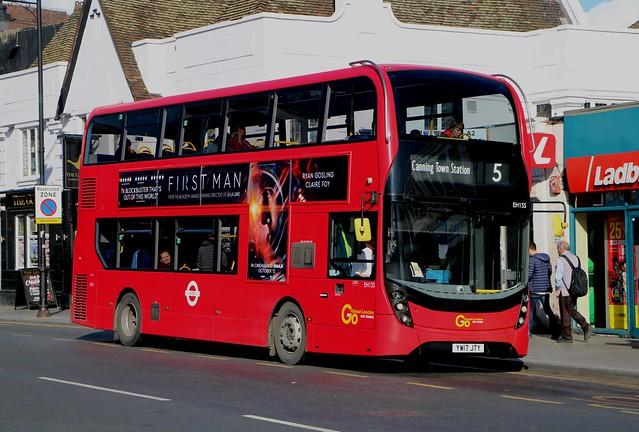 Go Ahead London Blue Triangle - EH133 - YW17JTY