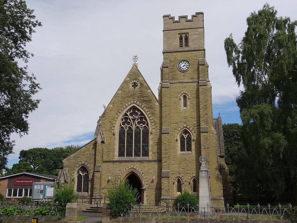 St Oswald church. Fulford (SymacCC-BY-SA2.0)