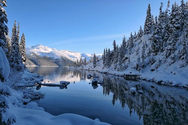 Mount Garibaldi and the lake