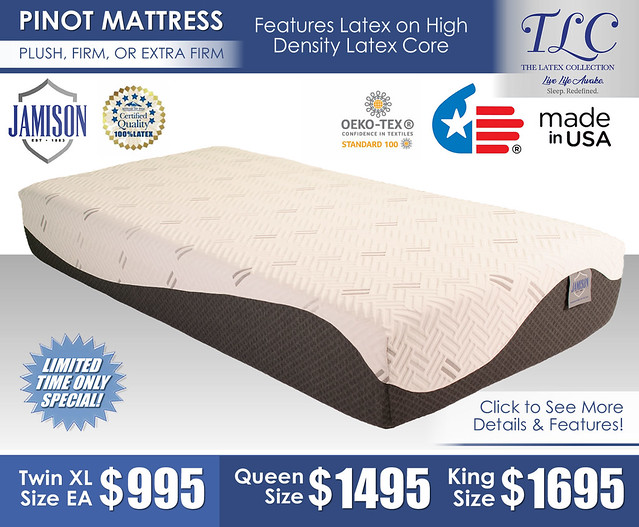 Pinot Plush Firm or Extra Firm Mattress Only_Jamison