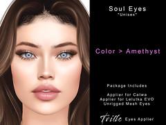 Tville Soul eyes amethyst