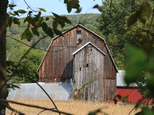 Barn along the Genesee Valley Greenway between Oramel and Belfast, New York