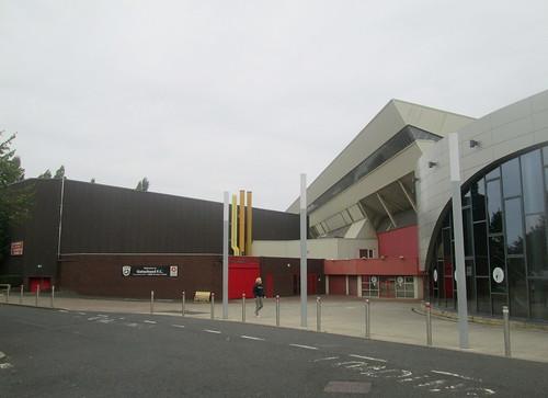 Gateshead International Stadium Entrance