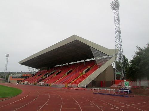 Main Stand from West, Gateshead International Stadium