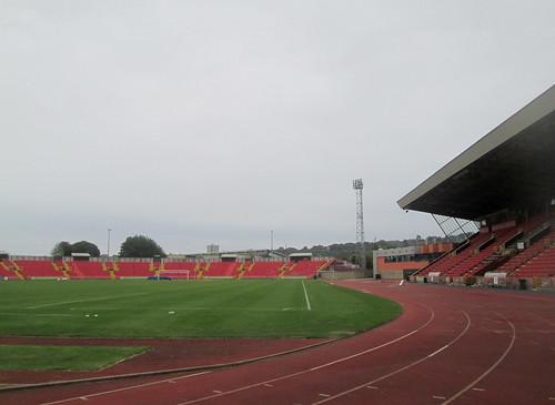 East Seating Gateshead International Stadium