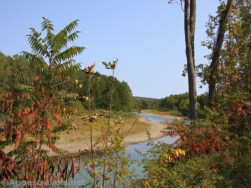Views of the Genesee River near Oramel, New York, along the Genesee Valley Greenway