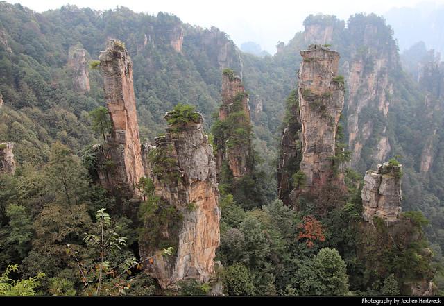Wulingyuan Scenic Area, Zhangjiajie, Hunan, China