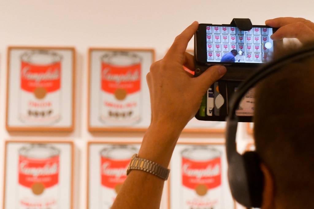 Walk In New York 2019 - MOMA Andy Warhol -  Campbell's Soup Cans