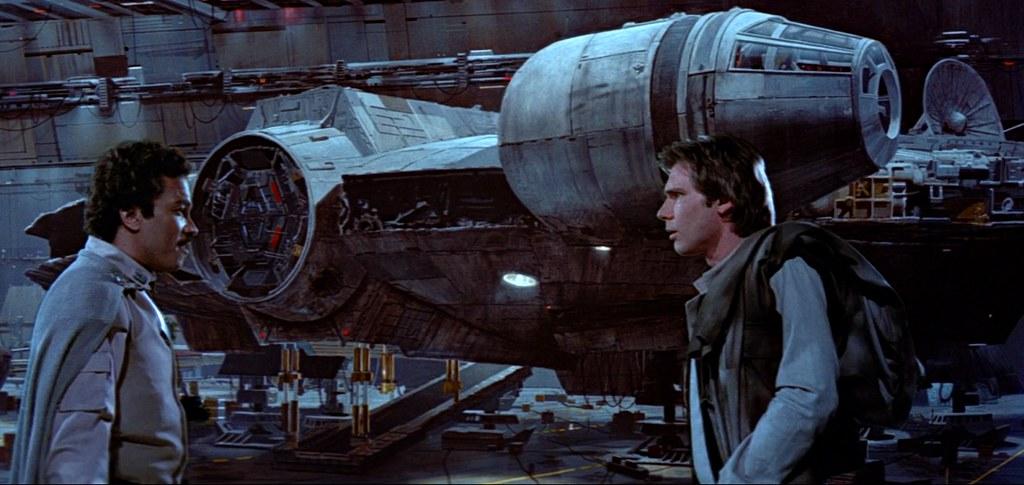 Original docking bay from Episode 6