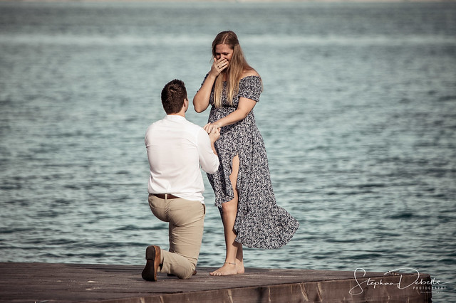 Bora Bora Photographer Stephan & Bonnie | 100% Positive reviews! | Will you marry me? Victor to Claire at the Royal Bora Bora! | January 21, 2021