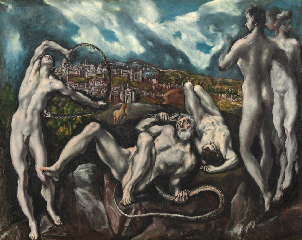 Laocoonte por el Greco (1610-1614). National Gallery of Art, Washington