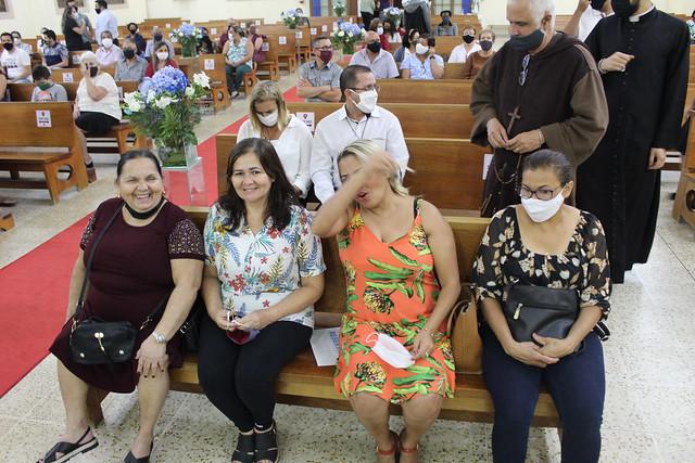 Primeira Missa do Pe. Francisco Lucas Pereira na Paróquia São José