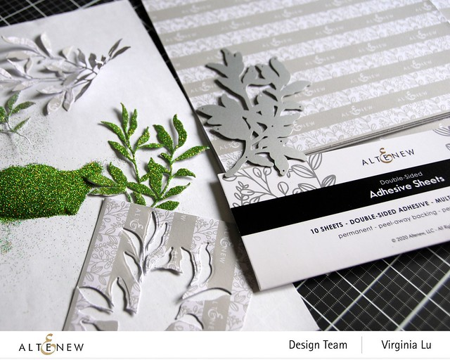 Altenew-Adhesive Sheets-Just Leaves Die Set-001