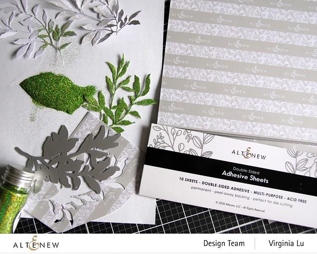 Altenew-Adhesive Sheets-Just Leaves Die Set