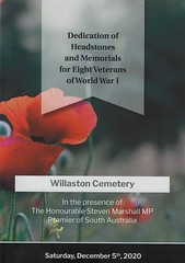 2020 1205 WW1 dedication Willaston Cemetery  (1)