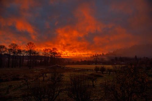 sunrise bluelake bluelakecalifornia arcata arcatacalifornia northcoast humboldtcounty