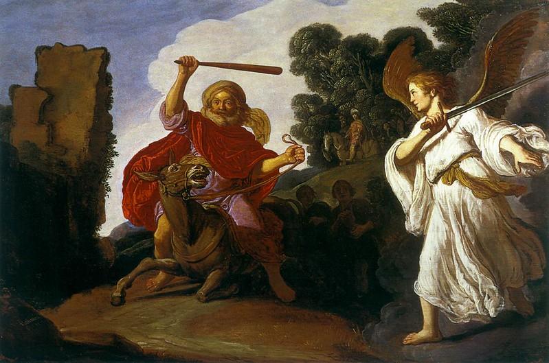 Питер Ластман. Валаам и осёл. 1611
