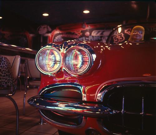 Corvette in McDonalds - Chicago