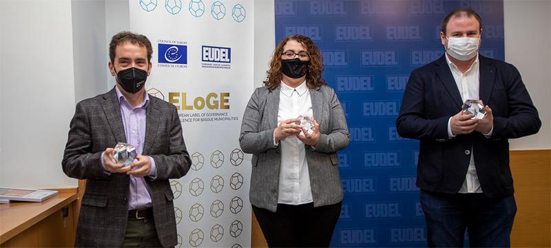 El alcalde ha recogido el reconocimiento ELoGE