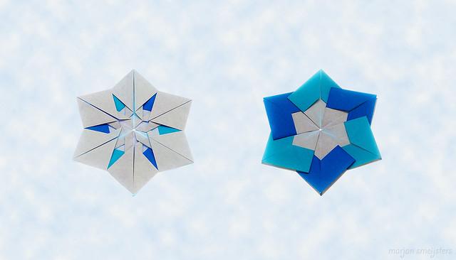 Origami Snow Crystal (Sayoko Kuwabara)