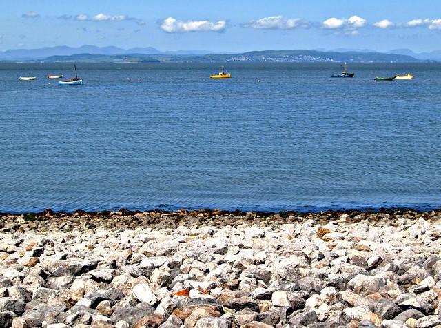 Morecambe Bay towards Grange over Sands