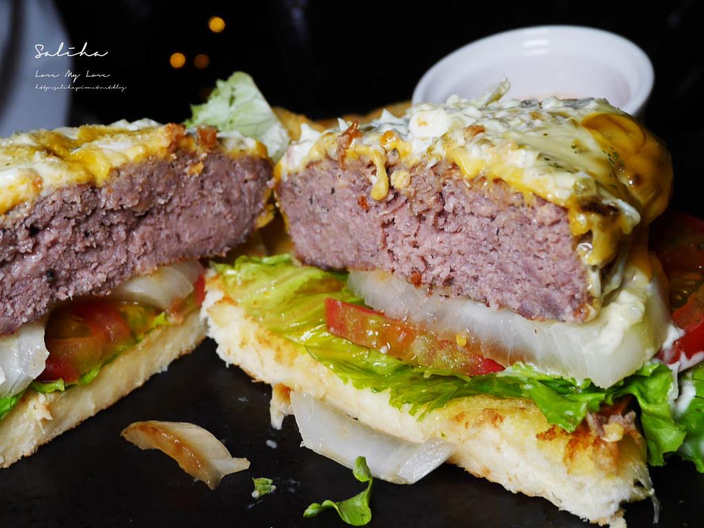 台北東區不限時餐廳推薦ABV美式餐酒館好吃忠孝敦化站附近美食大份量漢堡  (5)
