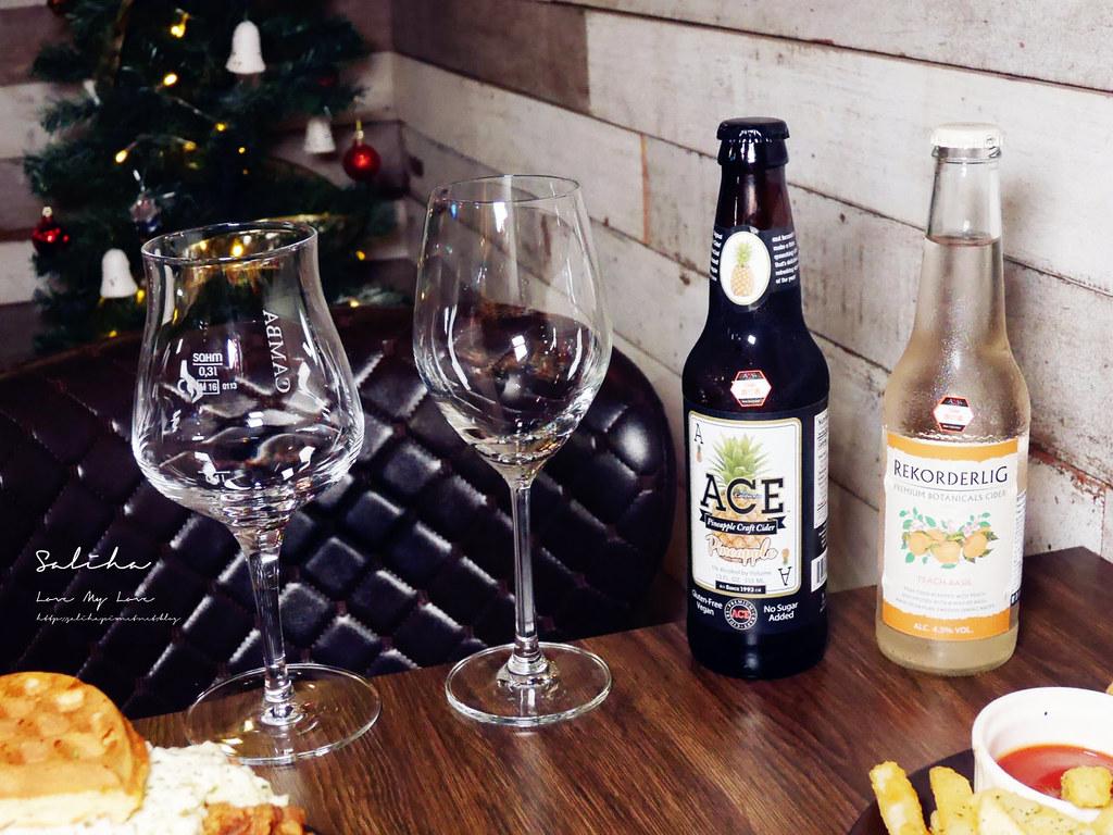 台北東區不限時餐廳推薦ABV美式餐酒館聚餐約會久坐聖誕節情人節