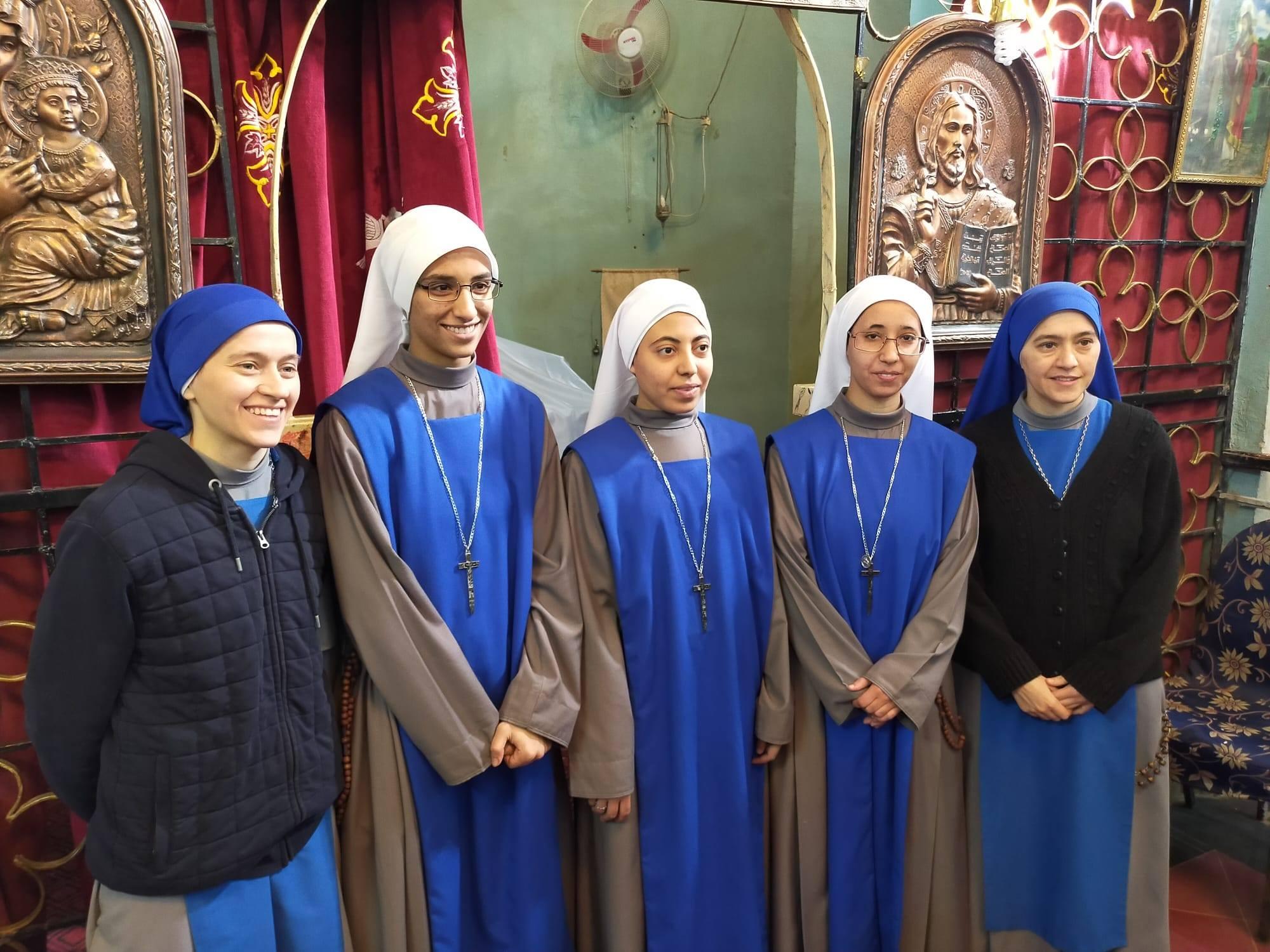 Toma de hábito de la Hermana Kilan en Egipto