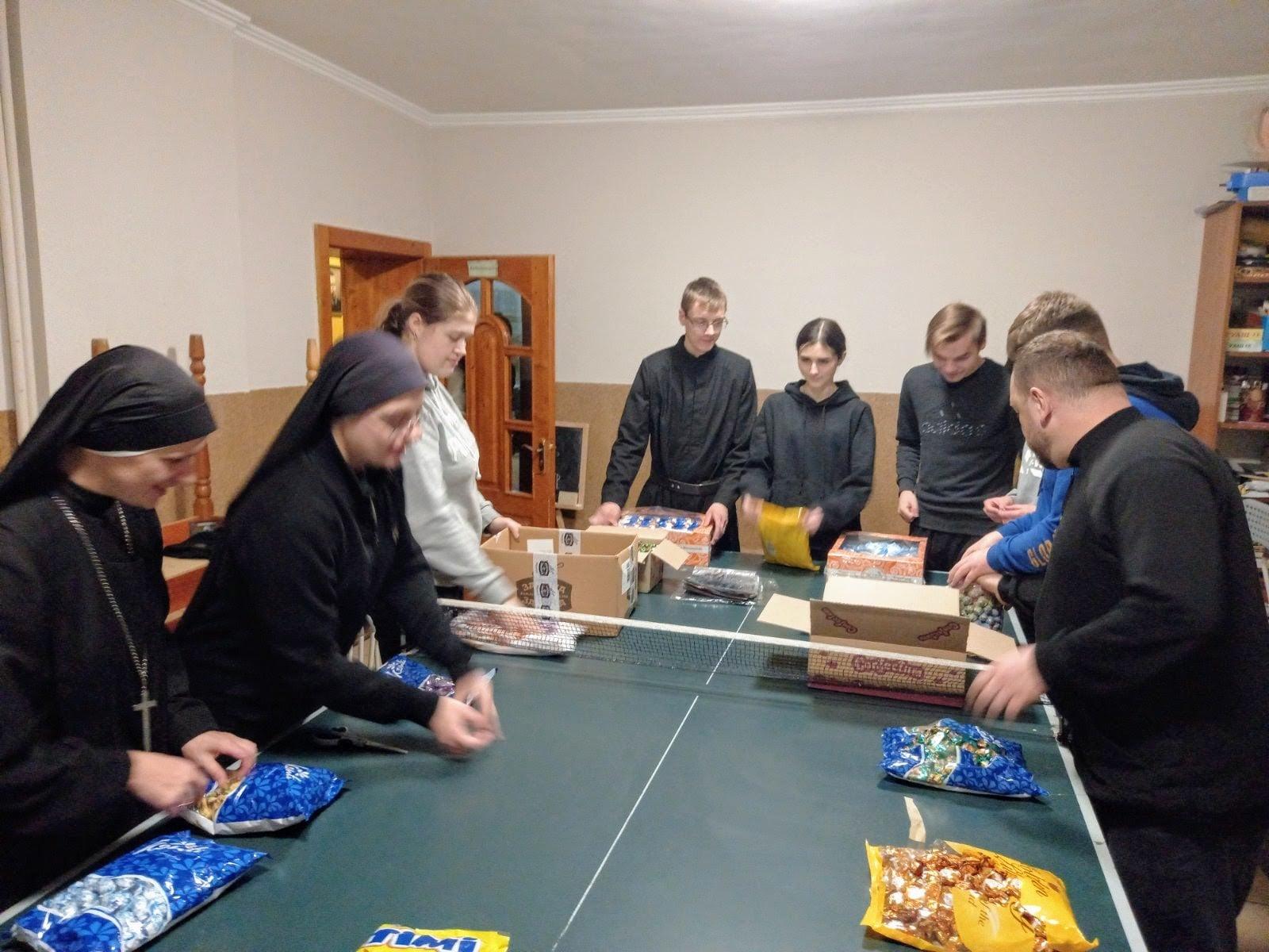 Preparaciones para la fiesta de San Nicolás en Ucrania