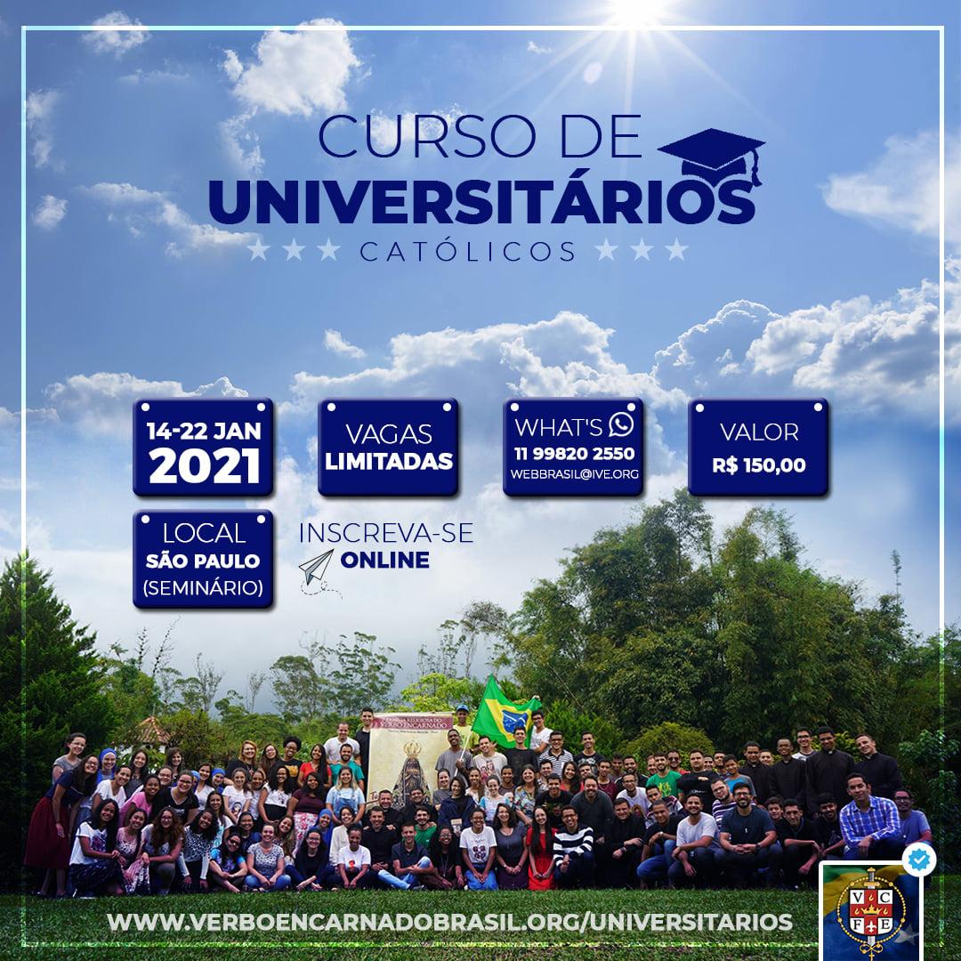 Invitación al Curso de Universitarios en Brasil