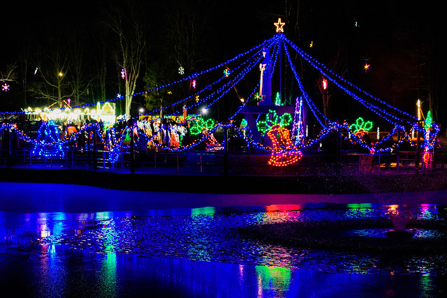 Lasalette Shrine Holiday Lights-7