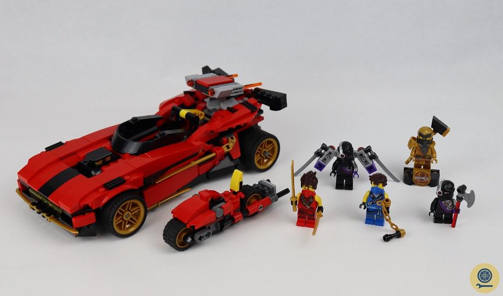 71737 X-1 Ninja Charger 1
