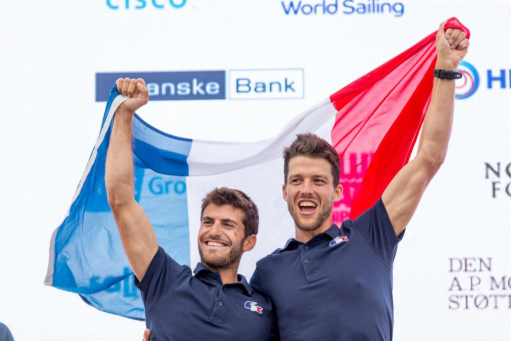 Kevin Peponnet & Jérémie Mion - Équipe de France de Voile