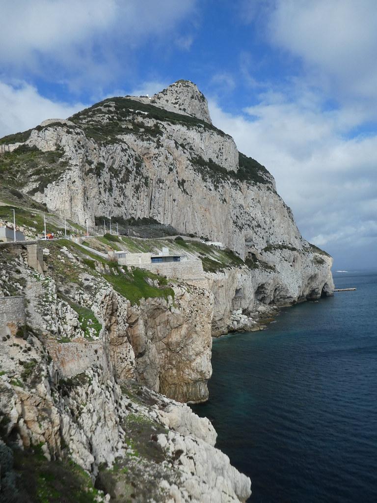 Coastline at Gorham's Cave Complex, Gibraltar