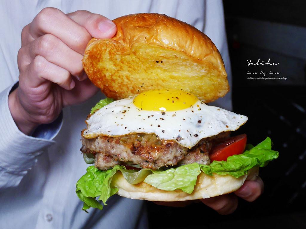 台北東區不限時餐廳推薦ABV美式餐酒館好吃忠孝敦化站附近美食大份量漢堡  (1)
