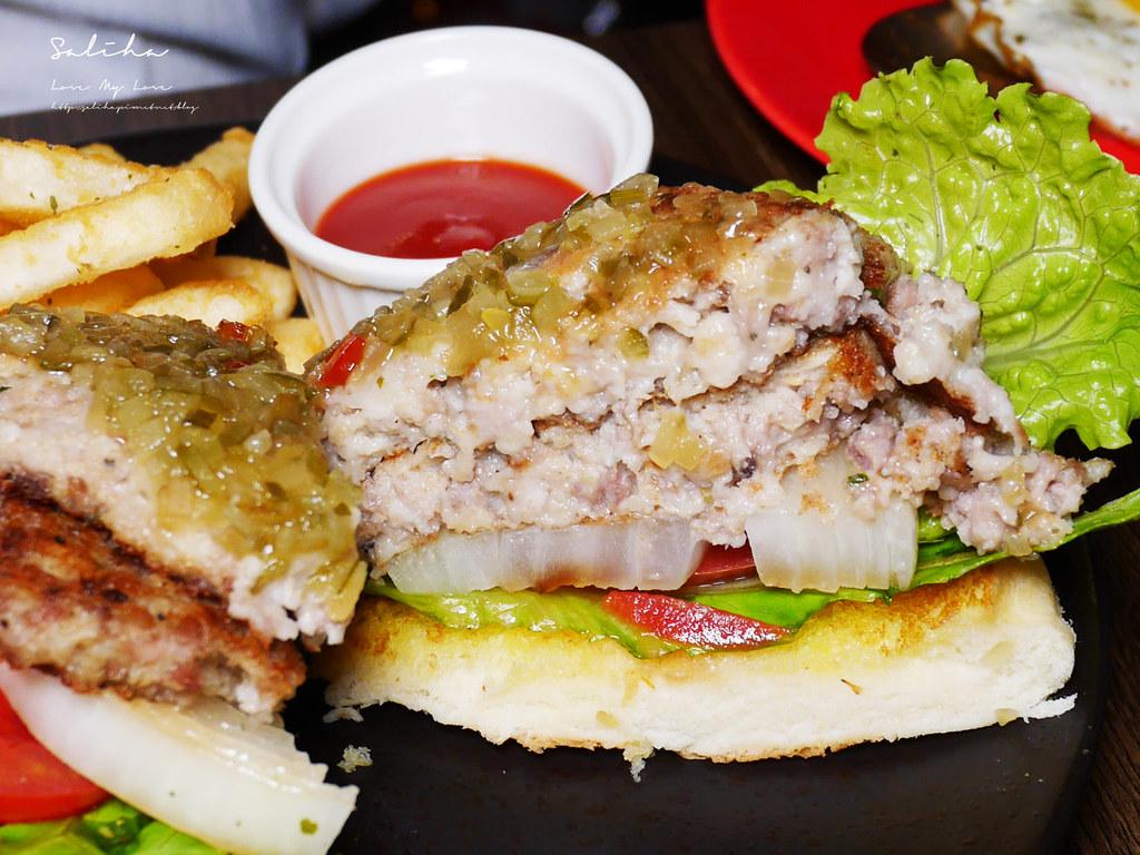 台北東區不限時餐廳推薦ABV美式餐酒館好吃忠孝敦化站附近美食大份量漢堡  (2)