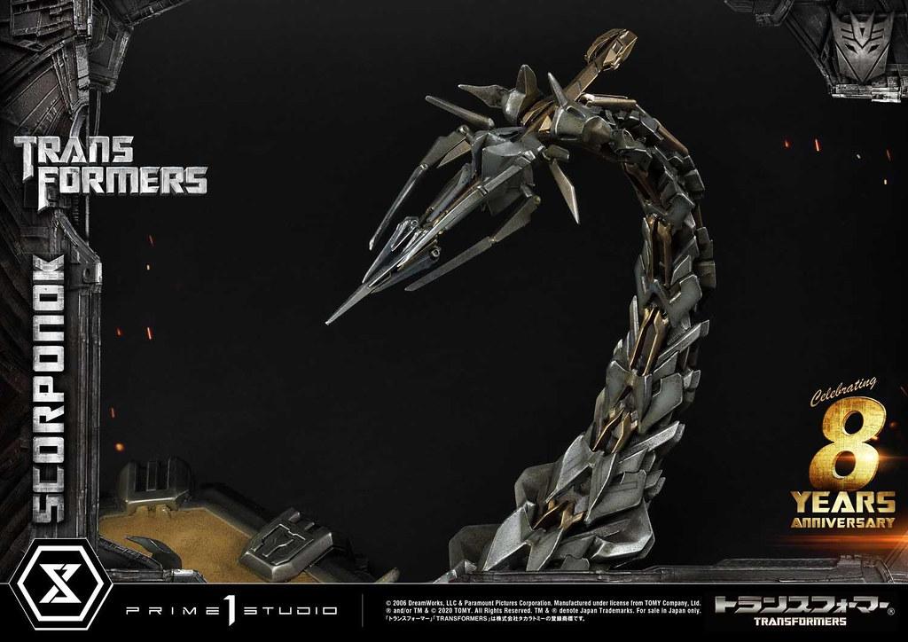Prime 1 Studio《變形金剛》瘟疫(Scorponok)無比例全身雕像 在沙漠中神出鬼沒的致命身影!