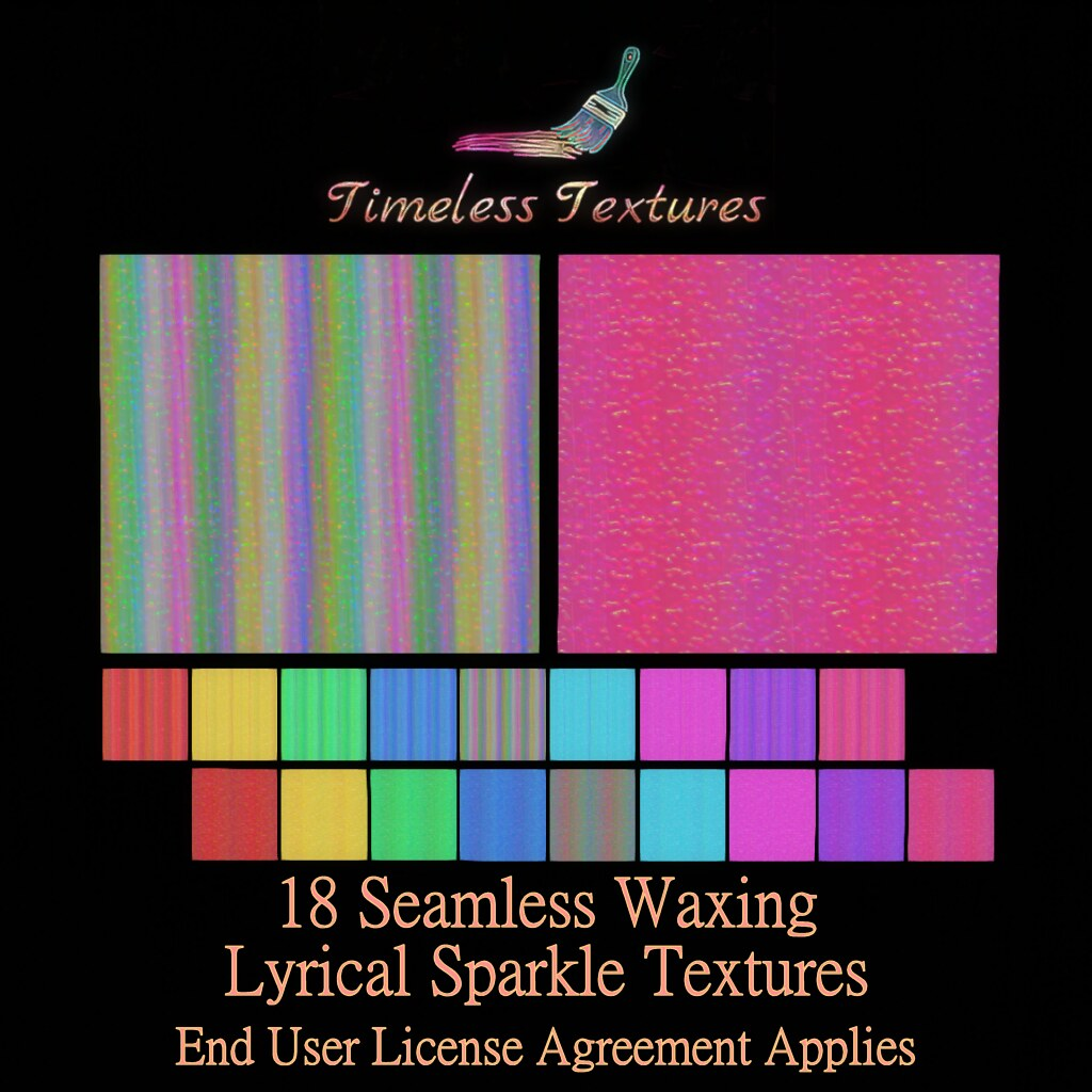 2020 Advent Gift Dec 17th – 18 Seamless Waxing Lyrical Sparkle Timeless Textures ++