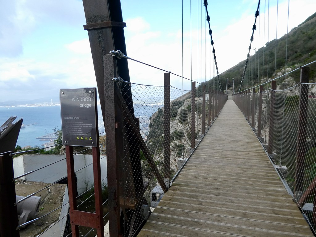 Windsor Suspension Bridge, GIbraltar