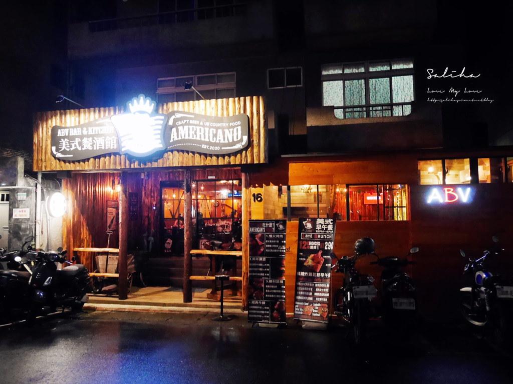 台北忠孝敦化站美食ABV Bar Kitchen美式餐酒館美式烤肉漢堡 牛排鄉村菜 (3)