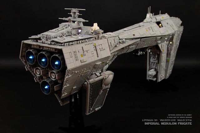 Lego Star Wars Imperial Nebulon MOC